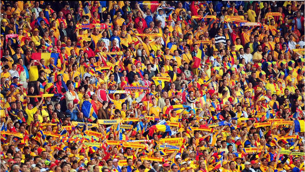 romanian supporters
